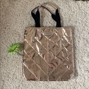 NWT Victoria's Secret Rose Gold tote👜